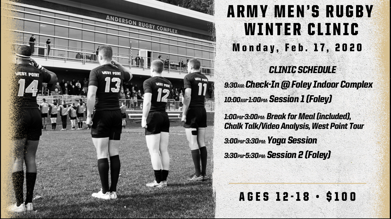 Army Men's Rugby Winter Clinic (2/17/2020)